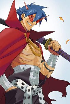 Gurren Lagann-This guy.One of my heroes - COSPLAY IS BAEEE! Tap the pin now to grab yourself some BAE Cosplay leggings and shirts! From super hero fitness leggings, super hero fitness shirts, and so much more that wil make you say YASSS! M Anime, Anime Love, Anime Guys, Gurren Lagann Kamina, Anime Characters List, Gurren Laggan, Mecha Anime, Anime Artwork, Awesome Anime