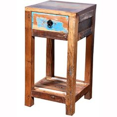 Industrial Side Table - Montreuil