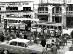 Σταθμός Υπεραστικών Λεωφορείων Αθηνών-Πελοποννήσου στην Πλατεία Αγίου Κωνσταντίνου