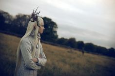 Thranduil #cosplay (from The Hobbit) is acted by Lee Pace, who was Ned, The Pie Baker, in Pushing Daisies.