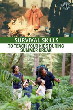 Survival Skills To Teach Your Kids During Summer Break - This article is all about the various types of survival skills to teach your kid during the summer break. You will need a clever vehicle but the skills are all here. Don't waste the time. Be sure that you can capture as much of your child's attention as the electronic world. #prepping #preparedness #prepper #survival #shtf #selfsufficient #summer #survivalskillsforkids #summeractivities