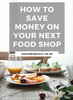 5 Easy Ways To Save Money On Your Next Food Shop | Wanna save money on your next food shopping trip & save cash every time you visit the supermarket? Here are 5 ways to save money on food