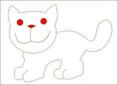 Voici de nouvelles fiches trouvées sur le net pour occuper les petits entre 3 et 5 ans, leurs apprendre à bien tenir un crayon, à tracer des lignes. Des fiches avec des animaux dont il faut suivre les pointillés pour en redessiner le contour. Pour télécharger...