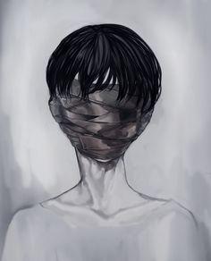 Yo misma me e puesto esta benda, cubriendo mis ojos alejandolos de la dolorosa realidad, creo que... asi es mejor.