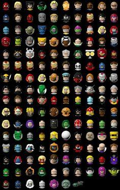 LEGO Marvel Super Heroes - Visit to grab an amazing super hero shirt now on sale! Univers Marvel, Legos, Lego Dc Comics, Mega Pokemon, Lego People, Lego Minifigs, Lego Worlds, Age Of Ultron, Marvel Heroes