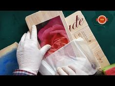#1 Image Transfer Paper, NO MORE RUBBING, Making Art easy on laser printer - Palissade Paper - YouTube