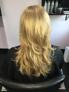 Blonde, blondie, complete grey coverage, long hair, long layers, beauty, blowout, Kenra color, Kenra, Kenra blow dry spray, Kenra anti frizz oil, Titusville, Florida  On Facebook at : Hair by Karissa at etc hair studio