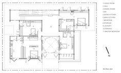 the second floor plan of Baan Yo Yen