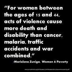 Women and Poverty