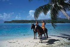 Ride horseback on the beach