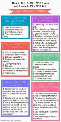 Confessions of a Montessori Mom blog: How to Talk so Kids Will Listen and Listen So Kids Will Talk by Simone Davies of Jacaranda Tree Montessori: