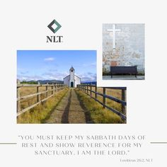 """""""You must keep my Sabbath days of rest and show reverence for my sanctuary. I am the Lord."""" Leviticus 26:2, NLT #NewLivingTranslation #NLTBible #ReadTheNLT #Bibleverse #Bibleverses #Biblestory #Biblestories #Bibleversesdaily #Bibleversedaily #Biblequote365 #Biblewords #Bibledaily #Bibleverseoftheday #BibleScriptures #Bibleinspiration #Christianinspiration #Biblesays #dailyBible #dailyBibleverse #dailyBiblereading #dailyBibleverses #Christianquote #Christianquotes """