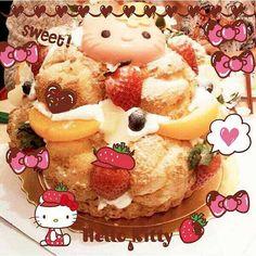 大きくてかわいいキティちゃんのシューケーキだよ♡ フルーツいっぱいで美味しそう♡ Check out this cute big Hello Kitty cream puff cake! Doesn't it look delicious?! Photo taken by sallyleo on WhatIfCamera Join WhatIfCamera now :) For iOS: https://itunes.apple.com/app/nakayoshimoshimokamera/id529446620?mt=8 For Android : https://play.google.com/store/apps/details?id=jp.co.aitia.whatifcamera Follow me on Twitter :) https://twitter.com/WhatIfCamera Follow me on Pinterest :) https://pinterest.com/whatifacera/pins