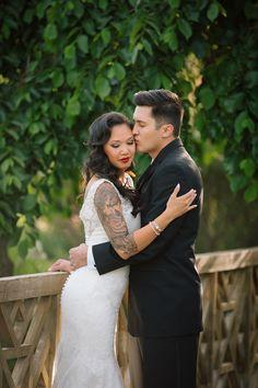 Veja lindas noivas tatuadas para o mês das noivas e se encante com a beleza estonteante delas.