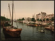 [The Port of Leuve, Rotterdam, Holland] | Library of Congress