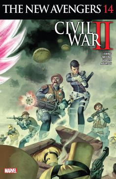 Weird Science DC Comics: New Avengers #14 Review