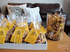 Thanksgiving snack mix, looks tasty.  School Gifts