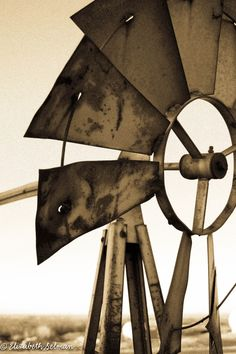 Old windmill Carlsbad NM