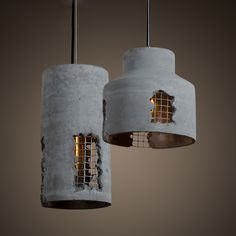 Quality Nordic Modern Brief Vintage American Loft Cement Edison Pendant Lamp Kitchen Bar Dinning Living Room Home Decor Lighting Fixture with free worldwide shipping on AliExpress Mobile Diy Furniture Decor, Concrete Furniture, Loft Furniture, Plywood Furniture, Furniture Design, Concrete Light, Concrete Lamp, Pendant Light Fixtures, Pendant Lighting