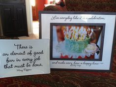 Lots if great quote-able goodies from Grammercy Road, love them!