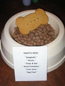April Fools Dog Food