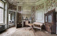 altes shabby Zimmer