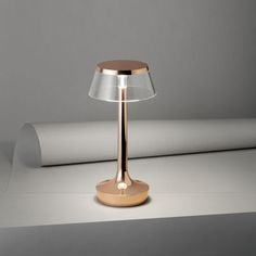 Bon Jour Unplugged Wireless lamp - / LED - Dimmer by Flos Furniture Sale, Table Furniture, Furniture Design, A Table, Table Lamp, Led Dimmer, Visual Comfort, Summer Sale, Led Lamp