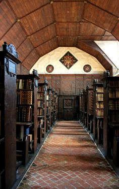 The Upper Library: Merton College
