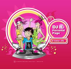 Personal Page Flash Templates by Delta Dj Website, One Page Website, Flash Templates, Website Template, Anime, Anime Shows, Anime Music, Anima And Animus