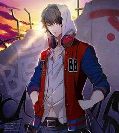 Images for kawaii anime boy fantasy. Dark Anime Guys, Cool Anime Guys, Handsome Anime Guys, Hot Anime Boy, Anime Love, Best Romance Anime, Fanarts Anime, Anime People, Animes Wallpapers