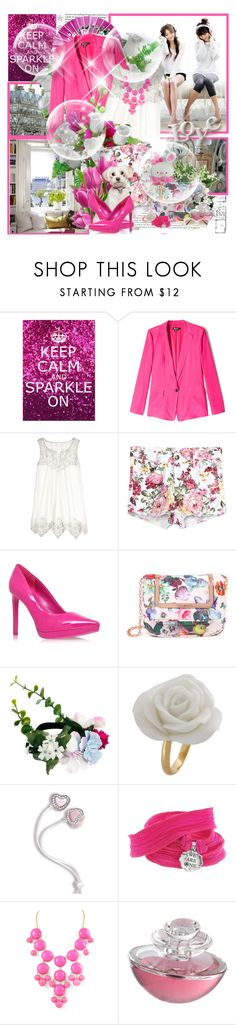 """''Where there is love there is life. Mahatma Gandhi''"" by purplecherryblossom ❤ liked on Polyvore featuring Oris, Glitter Pink, DKNY, Calypso St. Barth, Nine West, DC Shoes, Ted Baker, ASOS, Nach and Catherine Michiels"