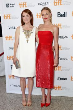 """Julianne Moore and Kate Bosworth at the """"Still Alice"""" premiere - TIFF Fashion"""