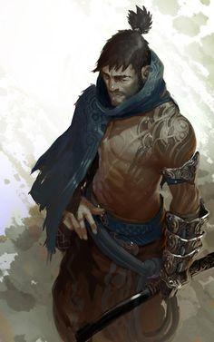 Shirtless men of fantasy. #fantasymen #fantasymenofcolor #shirtlessfantasymen #dnd