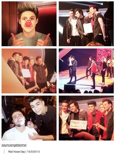 Red Nose Day filled with One Direction! Red Nose Day, One Direction, Fangirl, Justin Bieber, Happy, Irish, Irish People, Fan Girl, Ireland