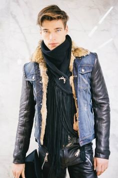 Like it or not....denim, leather and tassels (or fringe as some territories call it), is on trend for 2014. Throw in a rabbit's or fox tail on your belt loop and your IT!
