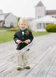 Kate Lowenstein Photography #wedding #capecodwedding #wychmere #ringbearer