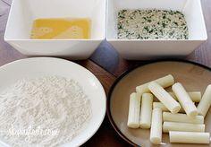 Skinny Baked Mozzarella Sticks   Skinnytaste