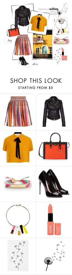 """multicolor"" by alessandra-lomartire on Polyvore featuring moda, Missoni, Barbour International, Elvi, Henri Bendel, Kate Spade, NYX, Urban Outfitters e GALA"