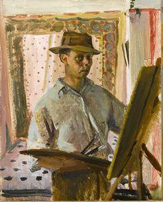 Self-Portrait by Alan Sorrell (British 1904-1974)