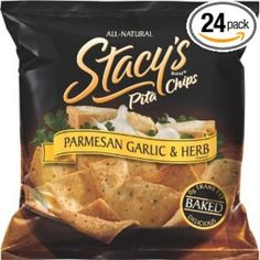 I'm learning all about Stacy's Pita Chips Parmesan Garlic