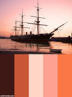 Hms Warrior Color Scheme from colorhunter.com