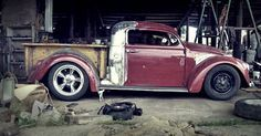 Cool VW truck project...