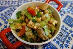 LA VERA  IN BUCATARIE: Salata de naut cu piept de pui