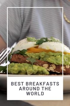Let these breakfasts inspire you to get up and make it a wonderful day. From easy breakfast sandwiches to full breakfasts that will blow you away. These spots have it all. Great inspiration for your next breakfast at home too!