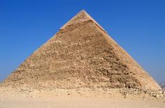 Pyramid of Khafre. Photo by Digr in 2004 (Wikimedia)