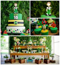 Ben 10 Themed Birthday Party