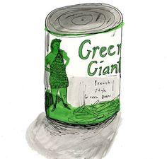 Green Giant by ElizabethGraeber on Etsy, $50.00