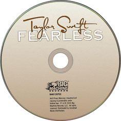 Caratula Cd de Taylor Swift - Fearless (Platinum Edition)