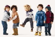 ALALOSHA: VOGUE ENFANTS: Ультро-яркий Benetton Fall/Winter2011/ 2012