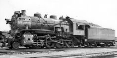 Chesapeak & Ohio 2-8-0 Engine No.711